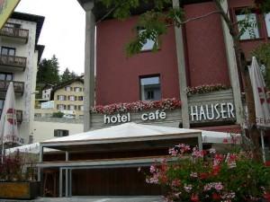 サンモリッツで泊まったホテル「ハウザー」