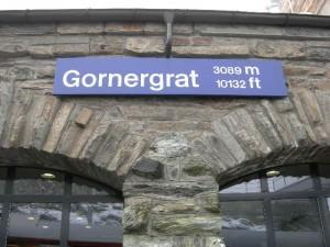 ゴルナーグラート到着