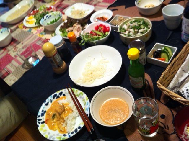 イベント終了後はみんなで食事