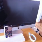 iMacが到着。音質の良さに衝撃を受ける。