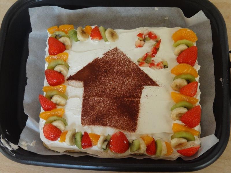 ありがとうの家2周年のケーキ!