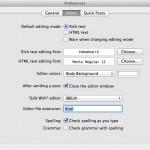 ブログエディタ「MarsEdit」の執筆画面でフォントサイズを大きくする方法