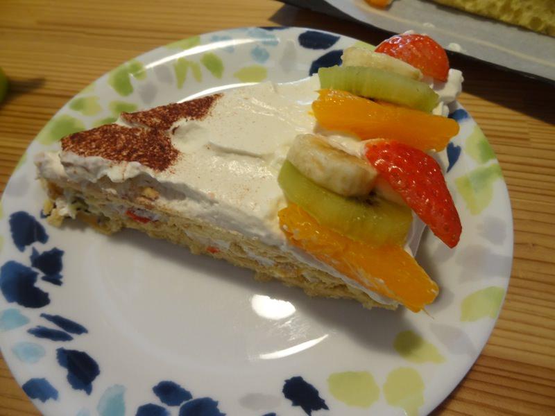 ケーキはとても美味しかったです
