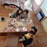 2014年初のairbnb受け入れは心優しい香港人3人組